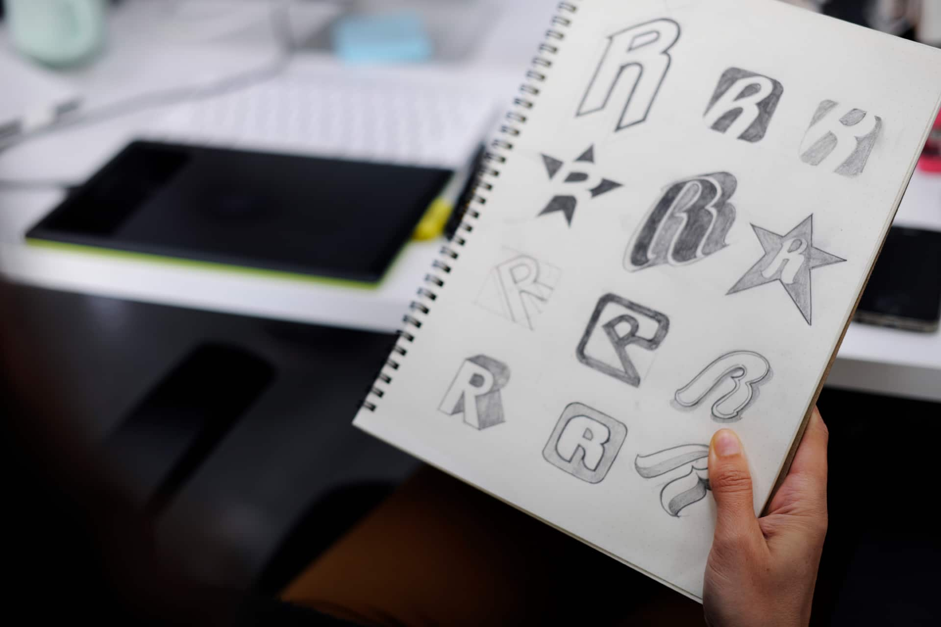 Illustration of Logo Concepts